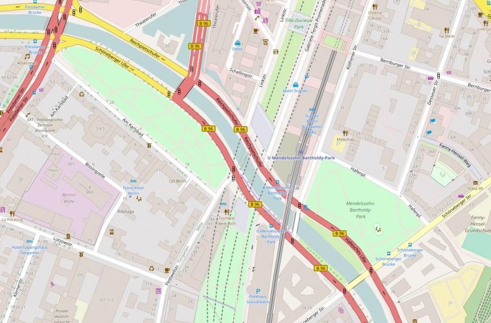 Karte: OpenStreetMap contributors