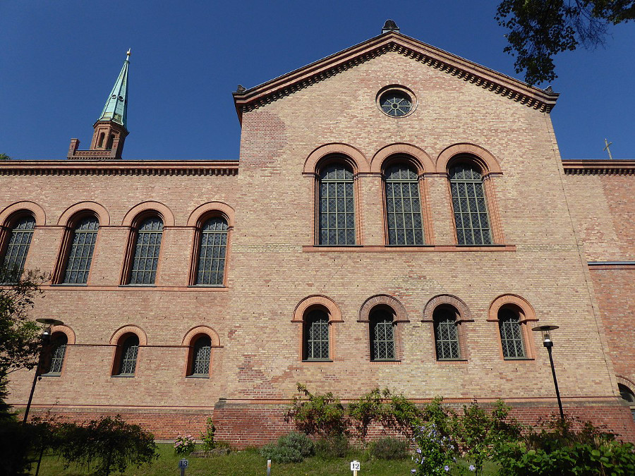 Die Johanniskirche in Moabit. Foto: Fridolin freudenfett / Wikimedia Commons / CC-BY-SA 4.0