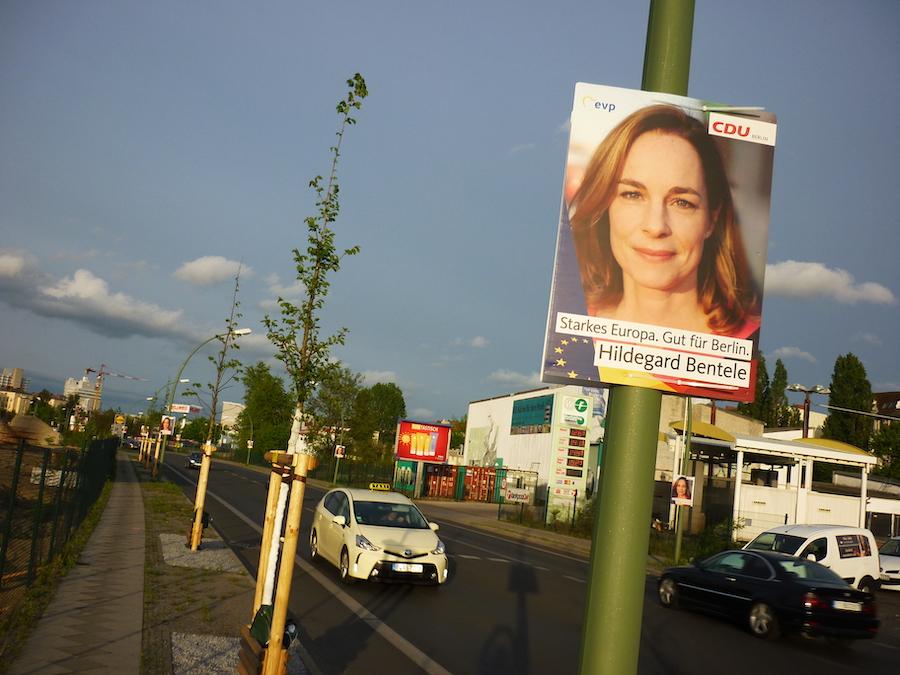 Hildegard Bentele ist die Spitzenkandidatirn der CDU Berlin für die Wahlen zum Europäischen Parlament. Foto: Benno Kirsch