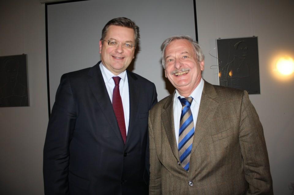 Reinhard Grindel, MdB und Volker Liepelt