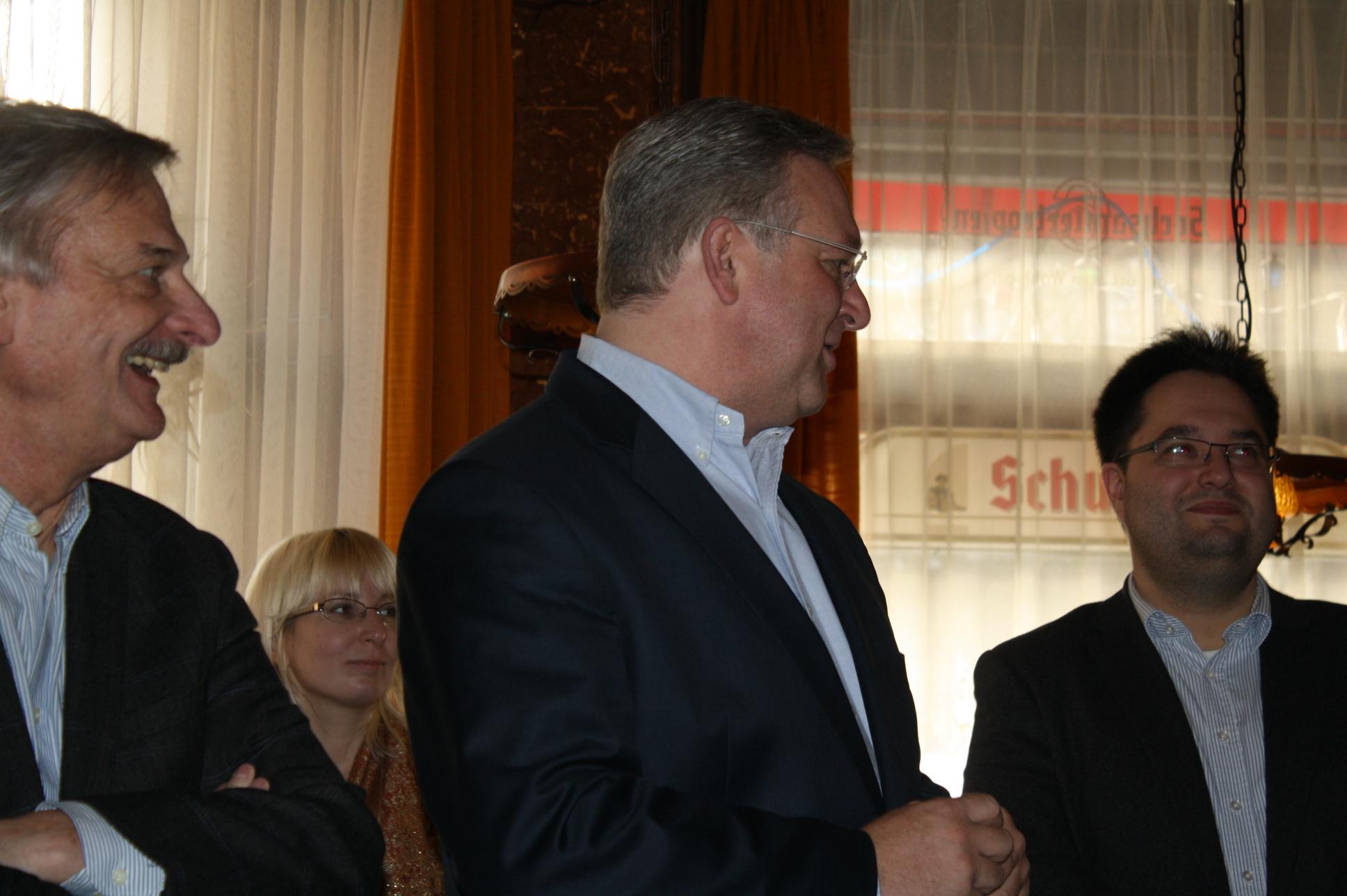 v.l.n.r. Volker Liepelt, Frank Henkel, Olaf Lemke