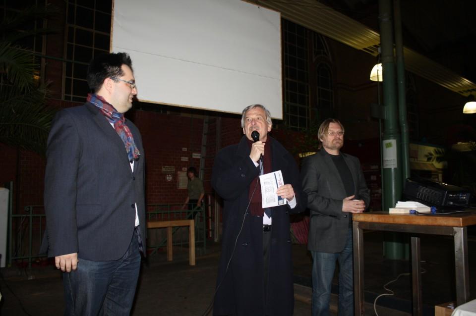 Volker Liepelt bei der Eröffnung der Veranstaltung